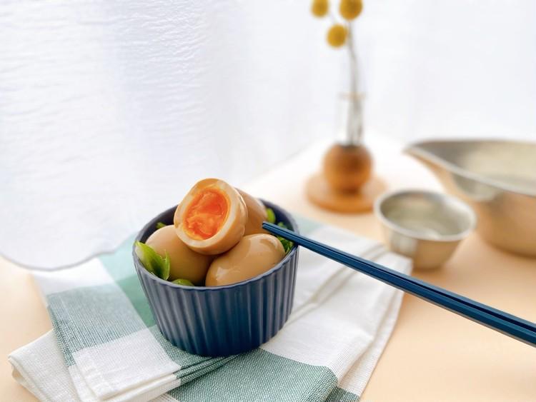 おうち時間に簡単おつまみレシピ! 短時間で美味しい味玉でおうち居酒屋_5