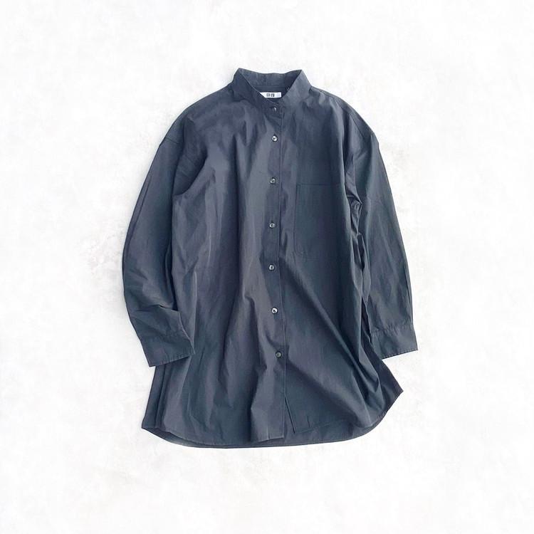 UniqloUオーバーサイズシャツ 2,990円