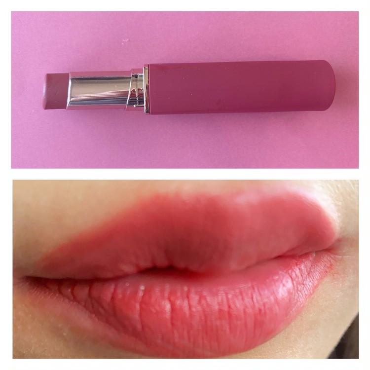 クリオのマッドマットステインリップ 13 MOLTEN PINK(モルテンピンク)実際に唇に塗って試してみた