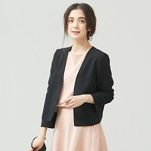 腰高フレアスカートで、きちんとジャケットを華やか&女っぽく!_4