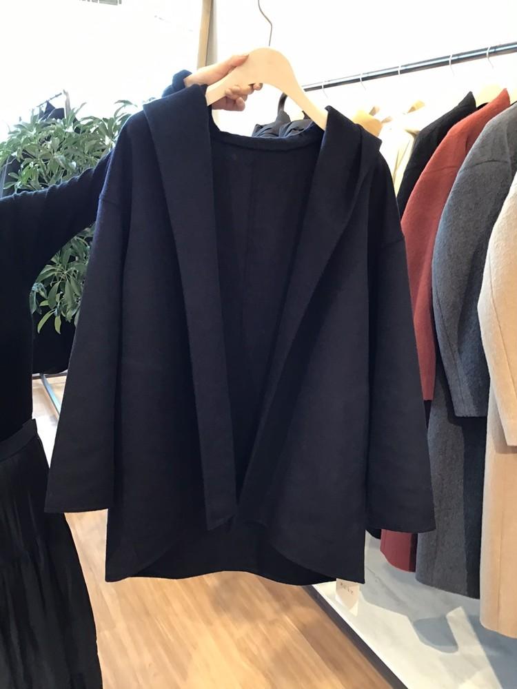 【PLST(プラステ)】2021秋冬新作展示会ライトウールコート