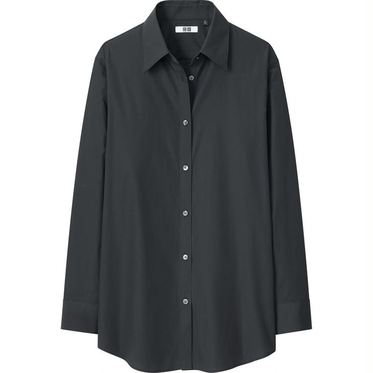 コットンロングシャツ(長袖)¥2,990