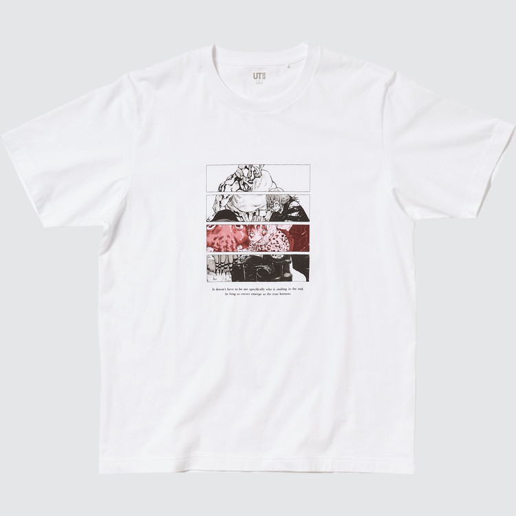 呪霊のグラフィックTシャツ