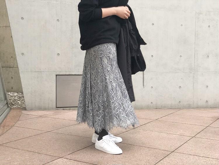 フレイアイディー  レーススカート