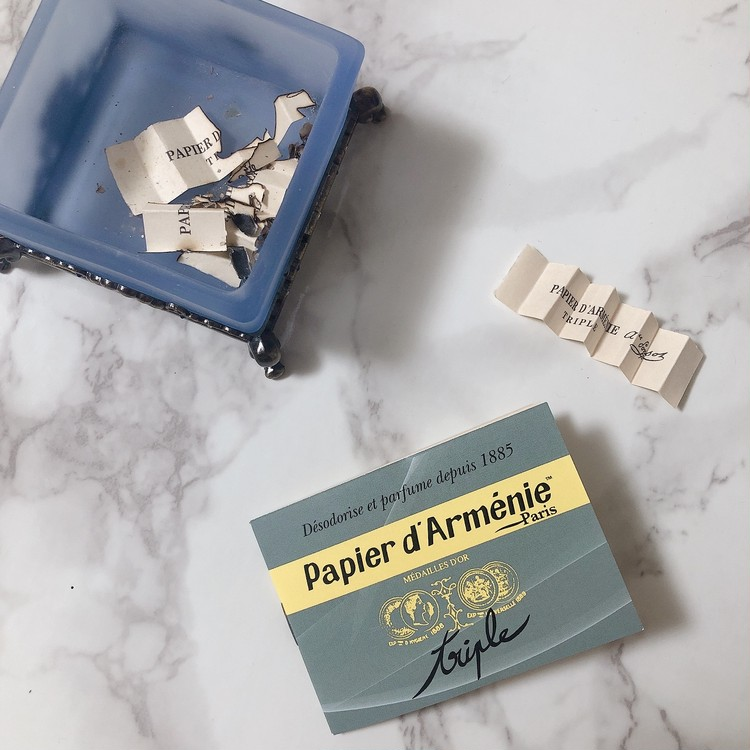 【紙のお香で風邪予防!?】空気も浄化してくれるフランスのお香が最高すぎる♡_6