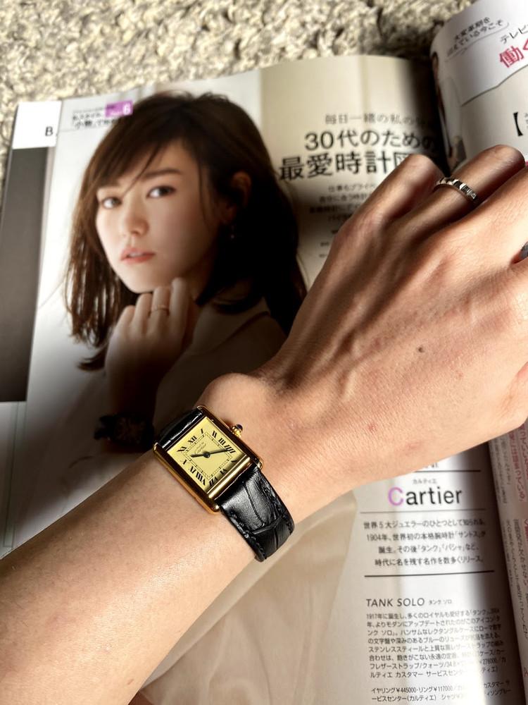 小物がテーマのBAILA最新号!MY最愛時計はカルティエの…_1