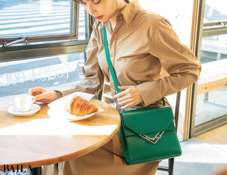 ボッテガ・ヴェネタのバッグ「ザ・クリップ」