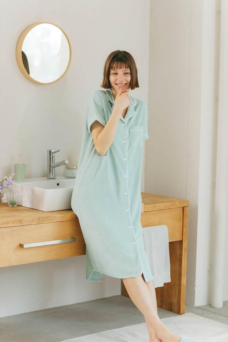 【写真】GUから冷感&保湿成分ミントパジャマ発売_6