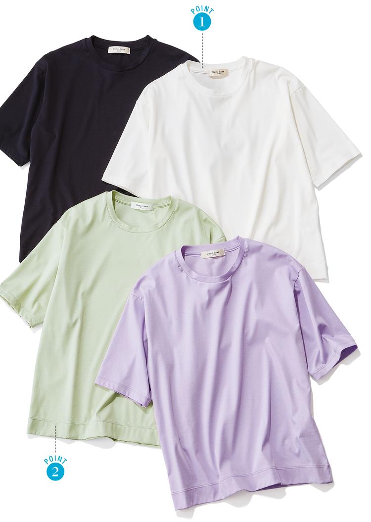 【BAILAスタイリストが認定!デミルクス ビームスの働く30代的 「隠れ名品」】Vol.3 Tシャツ_1