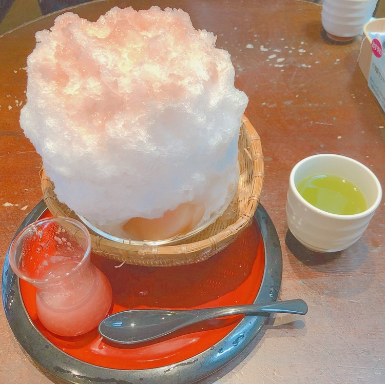 広尾の美味しいかき氷とコーディネート♪_2