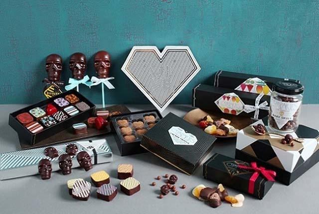 コンパーテスのユーモア溢れる愛いっぱいのバレンタインチョコに注目!