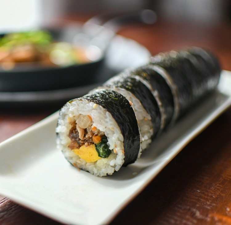 【無印良品】で買える韓国料理、 キンパ(韓国風のりまき)
