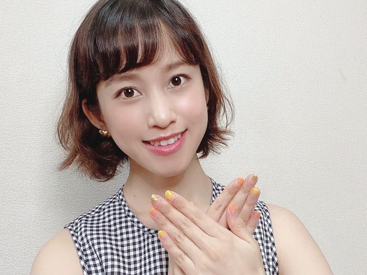 2020夏ネイル♡ビタミンカラーで大人フレンチ_3