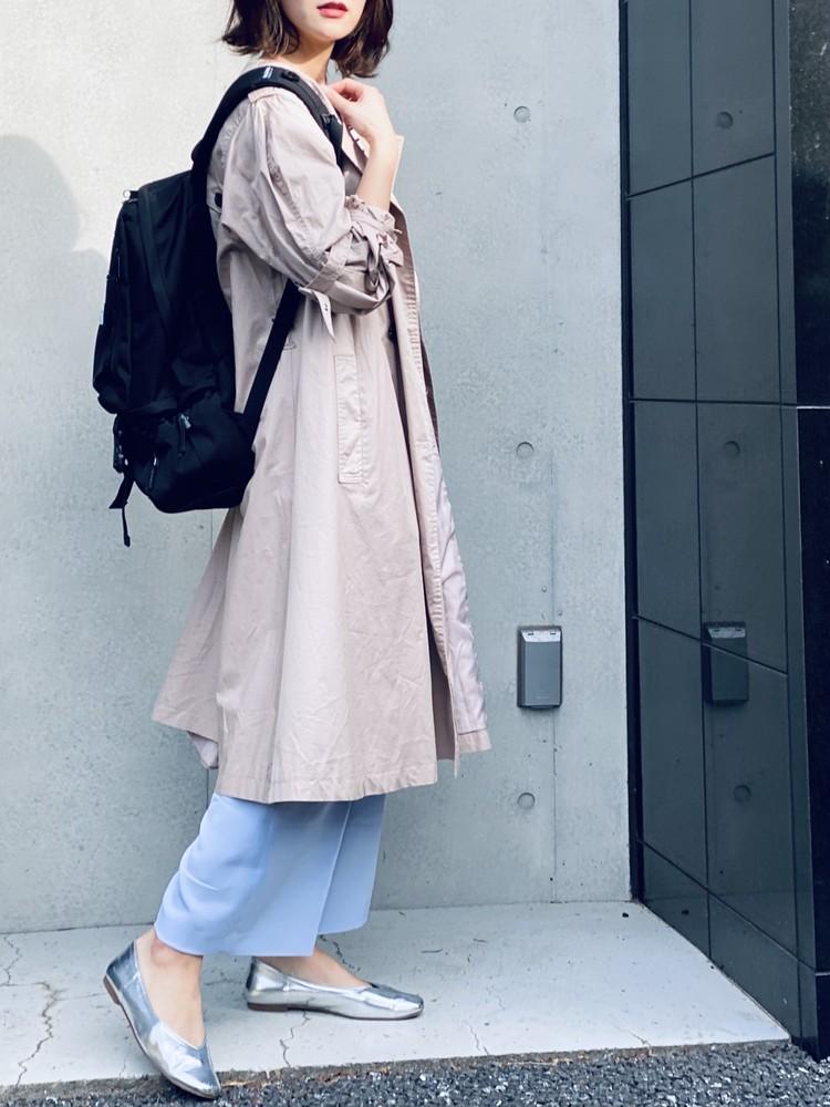 【UNIQLO】¥390きれい色パンツで春コーデ_12