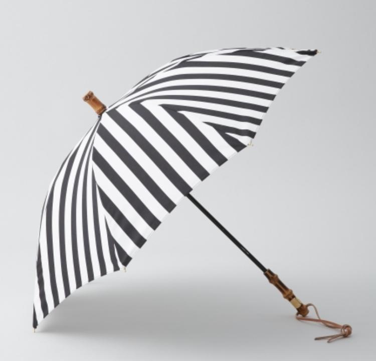 【トラディショナルウェザーウェア】の日傘 ストライプ