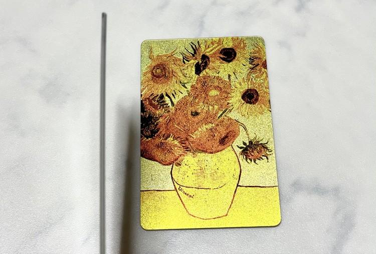 【ダイソー】カードミラーの厚さの写真
