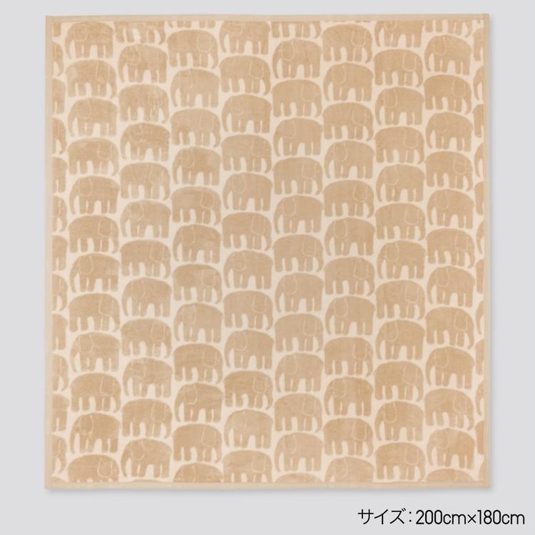 【ユニクロ(UNIQLO)】「ヒートテック毛布」が全店舗で発売スタート、人気北欧ブランド「フィレンソン」コラボ12月発売予定