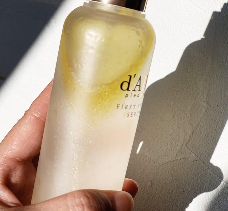 【お家美容】韓国コスメd'Albaの化粧水でツヤ肌に_3