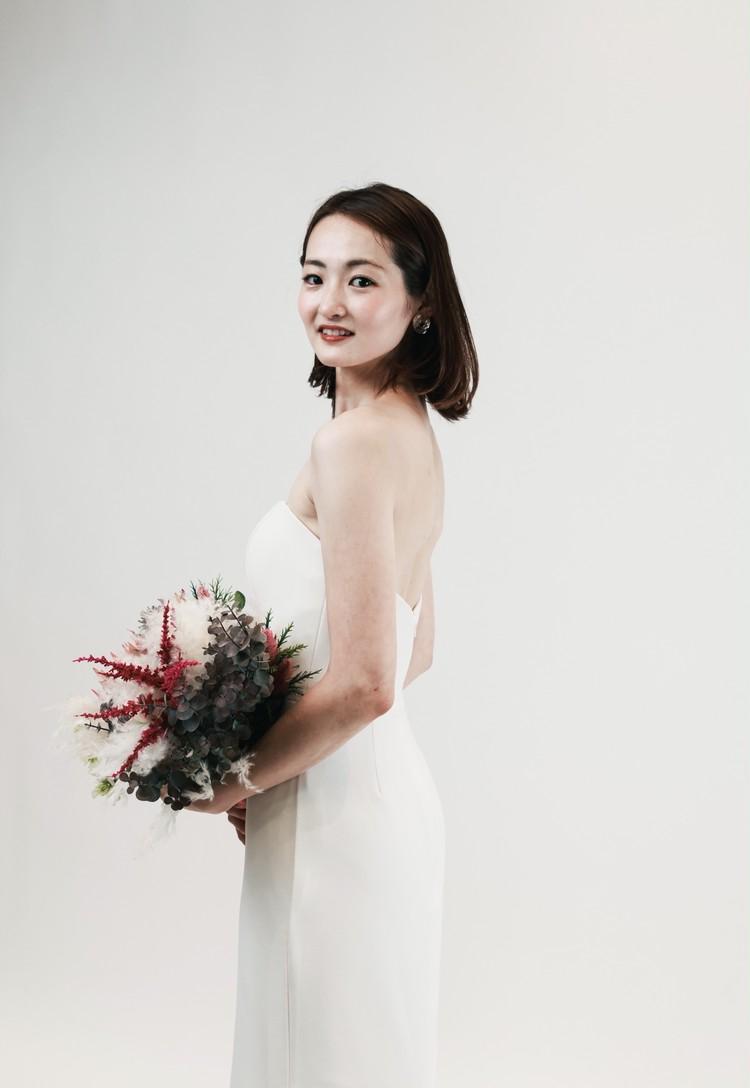 【私の式場選び】初めて着たウェディングドレス_3