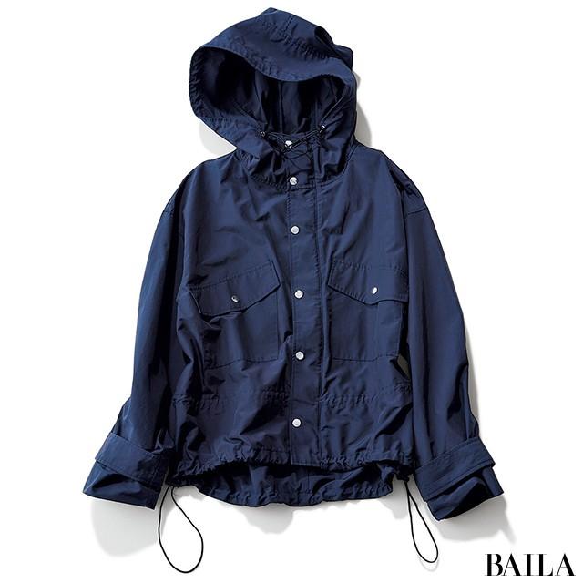 【しゃれ感マウンテンパーカ4選】雨や汚れを防ぎつつ、抜け感をプラス♡_4