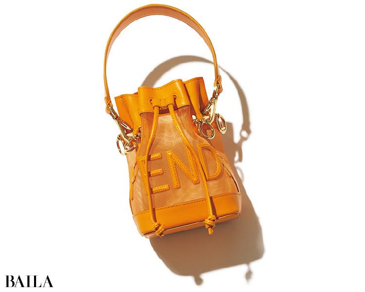フェンディのバッグ「MON TRESOR」