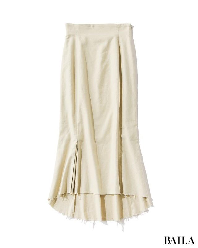 スタイルミキサーのスカート