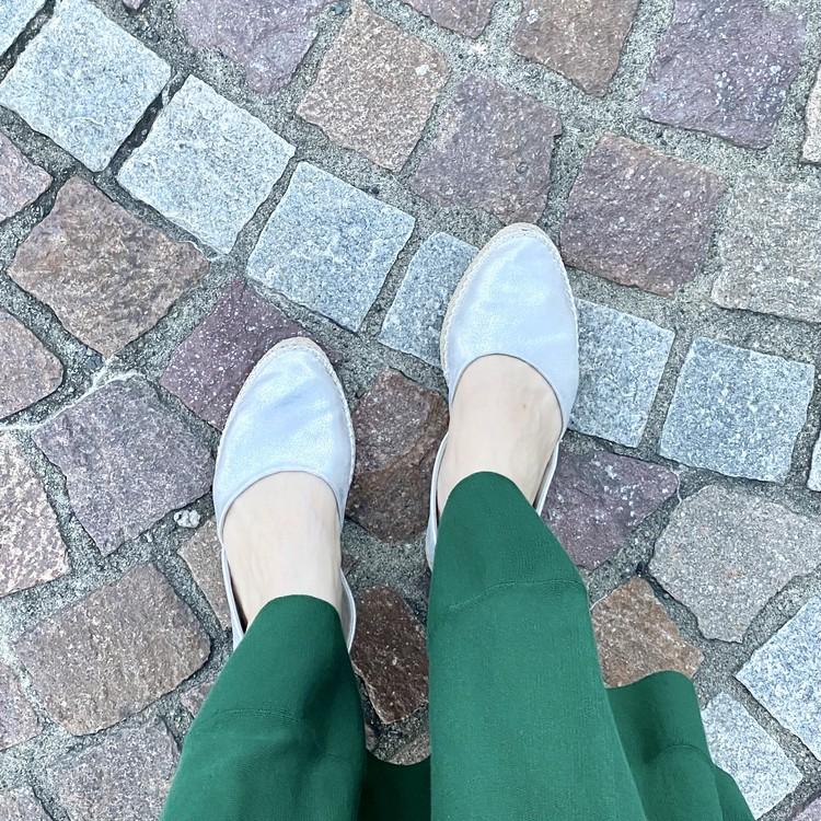 どこまででも歩いていける!【ジーユー(GU)】エアリーエスパドリーユ