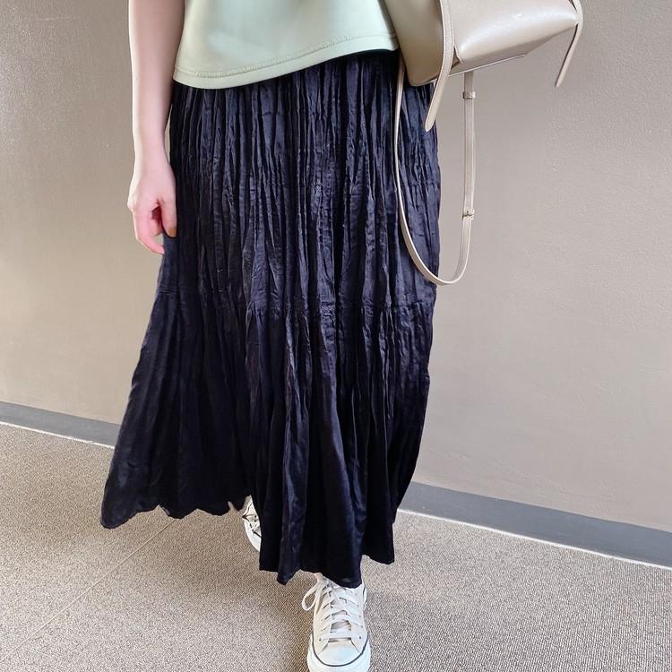 【ユニクロ秋冬】秋口まで使える◎新作プリーツスカートを着回し!_5