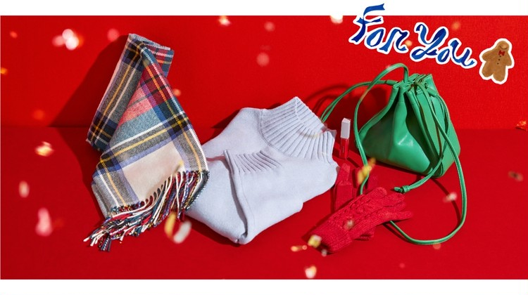 【ジーユー(GU)】クリスマス向けプチプラギフトがそろうホリデイキャンペーン開催中