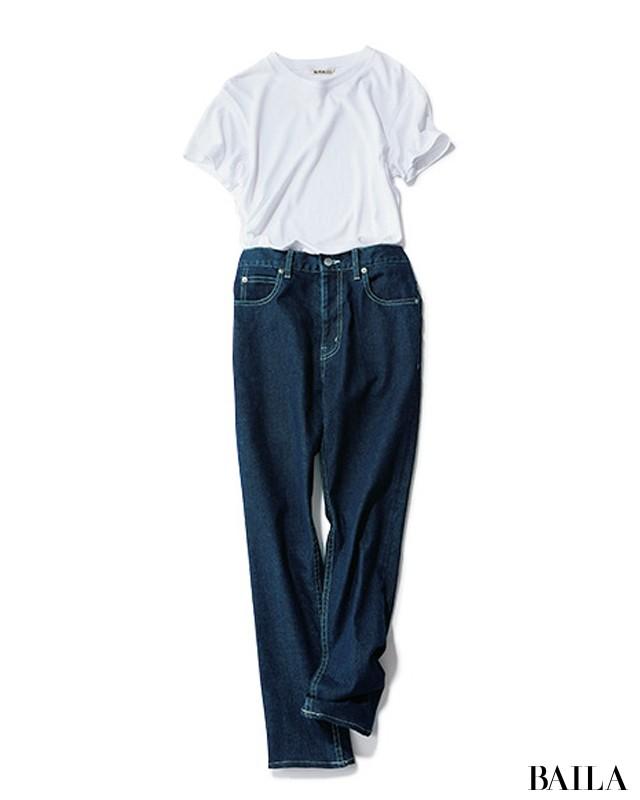 Tシャツ&デニムに足すだけで素敵♡【シンプル+1】4つの簡単なこと_1