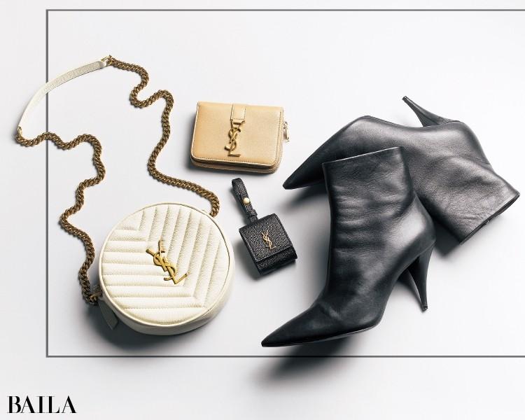 「SAINT LAURENT(サンローラン)」のモード&シックな財布やバッグ