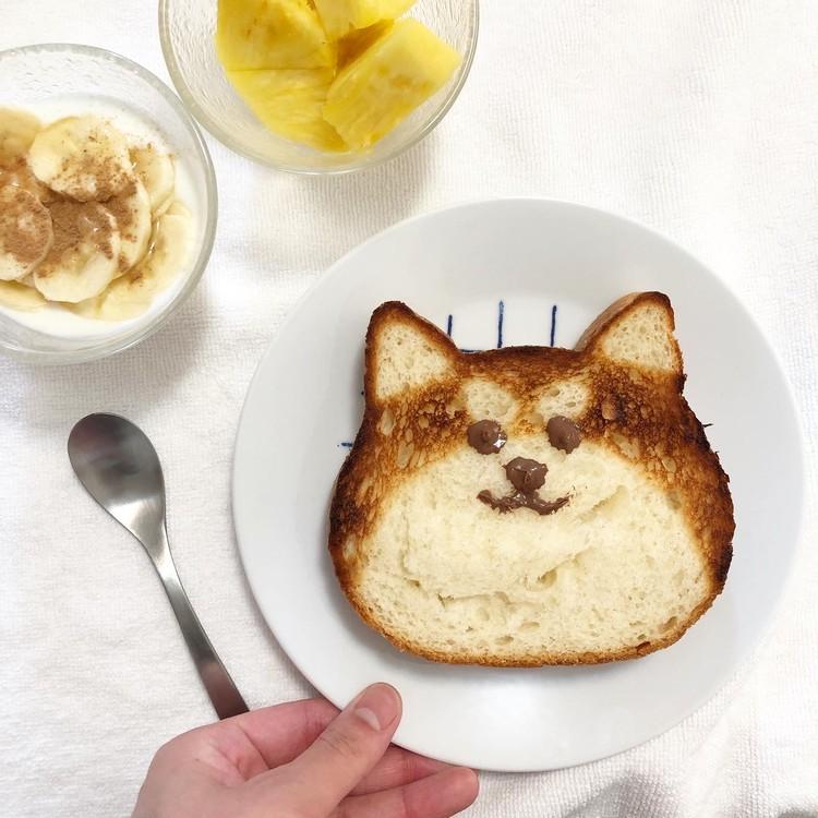人気のねこねこ食パンをアレンジしてみた♡_3