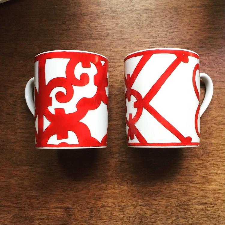 エルメスのマグカップ