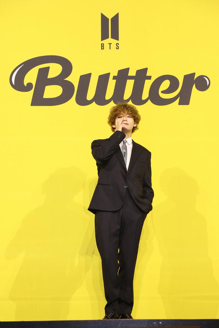 『Butter』でカムバックしたBTSのV