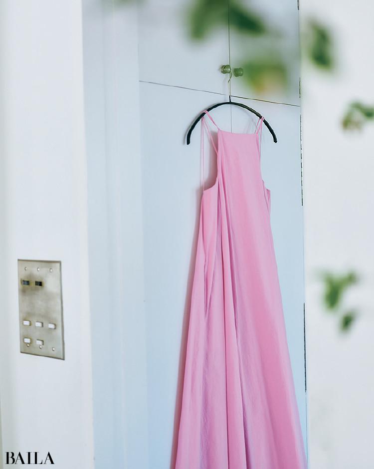 辻直子さんとリゾートドレス
