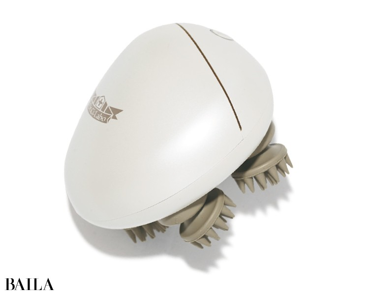 ライター 森山和子さん、編集ミツコは《Dr.Ci:Laboのヘッドマッサージャー》