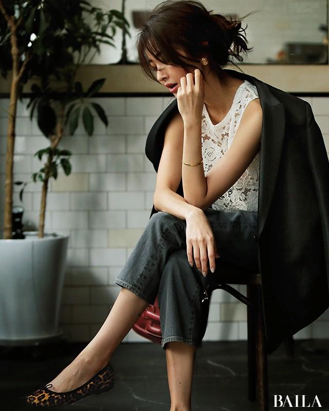 オフィスカジュアルの新定番! きれいめ通勤デニムコーデ30選【30代レディースファッション】_1_2