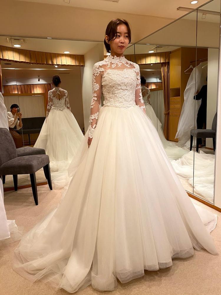 【Wedding】ドレス試着すべて見せます♡/後半①_2_2
