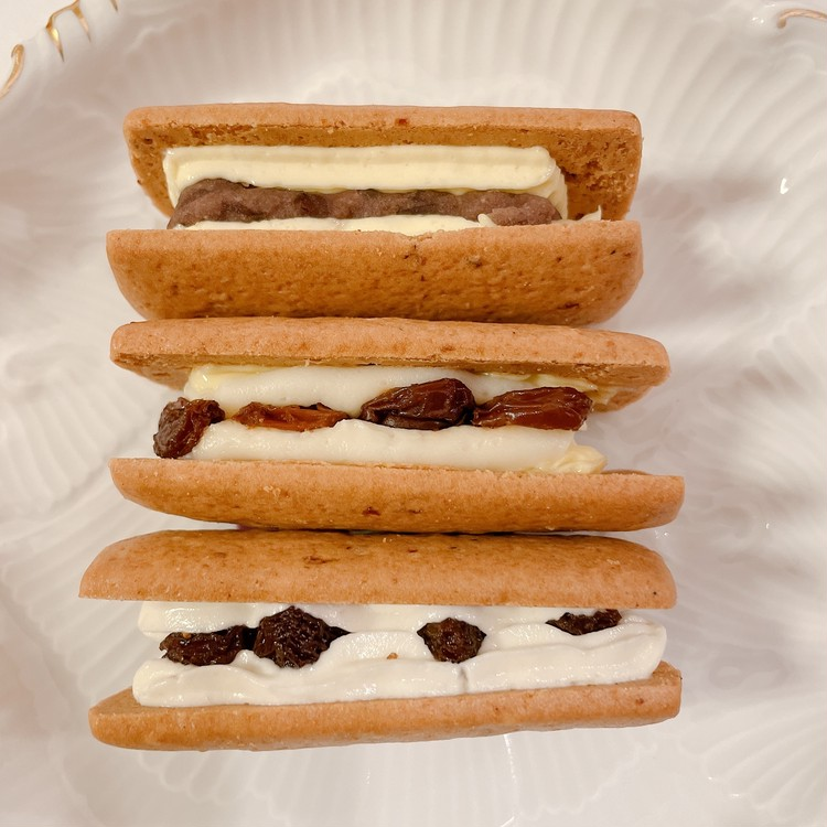 "「Huffnagel(フフナーゲル)」の「オリジナル」「チーズ」「あんバター」""Salty-Sweet""3種"