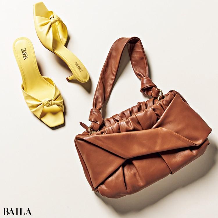 ザラ・ジャパンの靴とバッグ