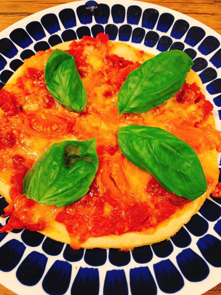 【おうちごはん】ピザ作り&万能バジルソース_1