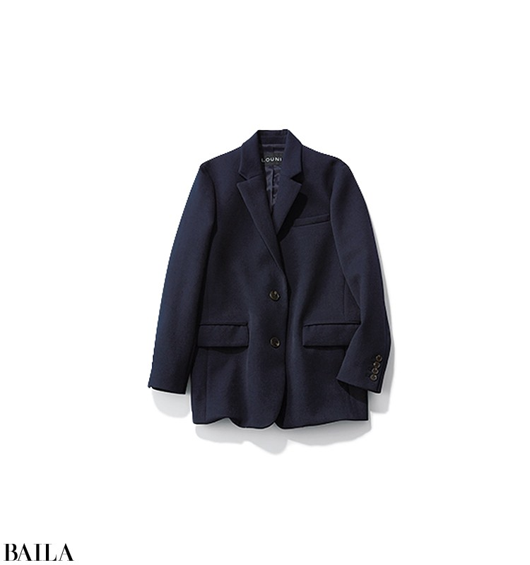朝一ミーティングの日は、ジャケット×あったか機能パンツのきれいめスタイル【2020/1/14のコーデ】_2_3