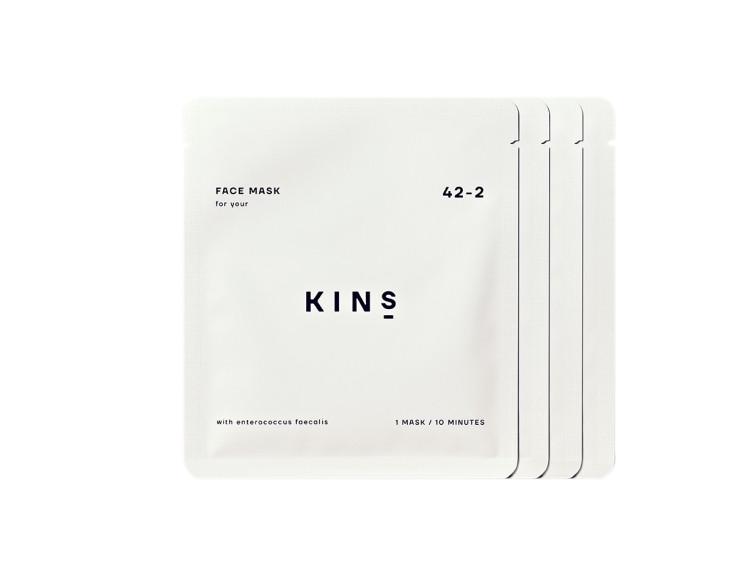 KINS フェイスマスク 4枚 ¥2980/KINS