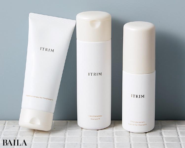 ITRIMのITRIM エレメンタリー スキャルプ&ヘアクレンザー Nとシャンプー Nとヘアコンディショナー N