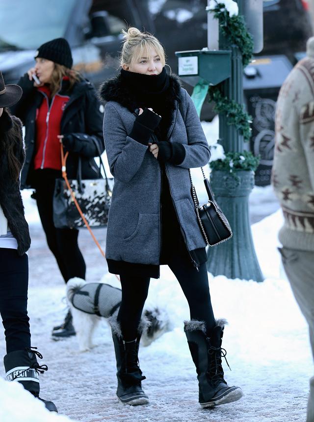 新年も暖かく♥ケイト・ハドソンのおしゃれ防寒スタイル【日めくりセレブ】_1