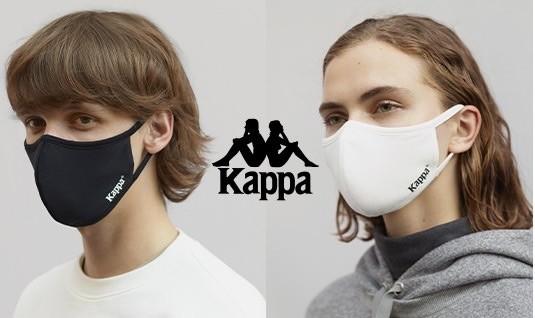 【ジーユー(GU)】新作マスク③:「高機能フィルター入り  コラボレーションマスク(Kappa・モンスターハンター)」(男女兼用・各¥490)