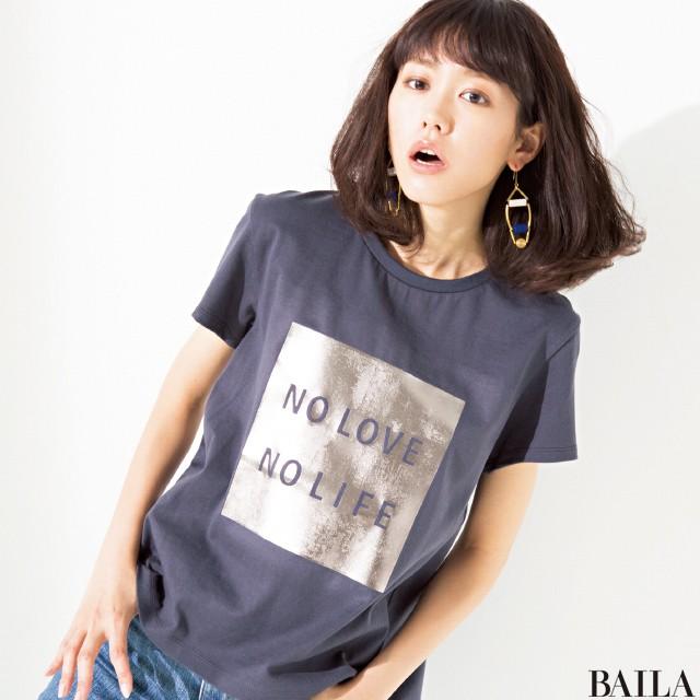 通勤も休日も♡ BAILA6月号で大人の【Tシャツ】おしゃれに本気出す!_1