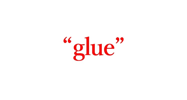 """「のり」=""""glue"""""""