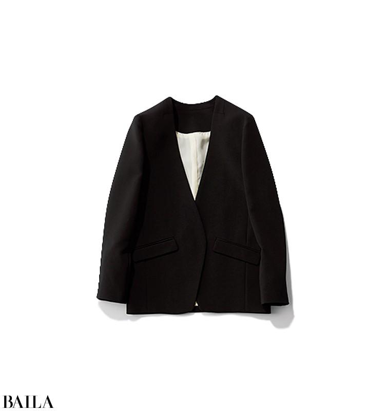 会議がある日は、ジャケットに白スカートの真面目コーデ【2020/1/29のコーデ】_2_3