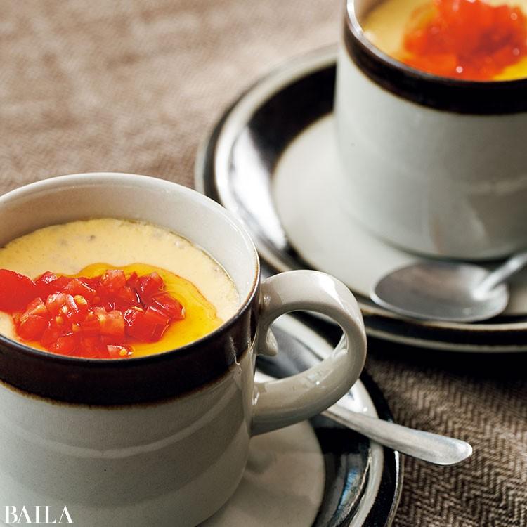 ゴルゴンゾーラ入り 茶碗蒸し